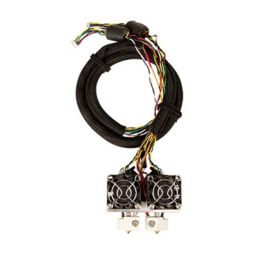 makerbot replicator 2x extruder assembly