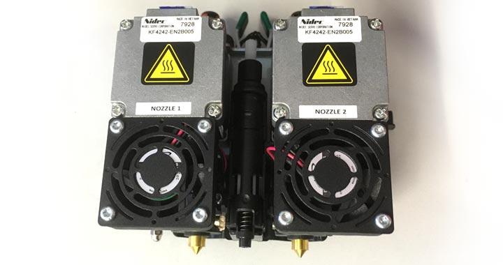 ABS 3D-Drucker Dual Extruder