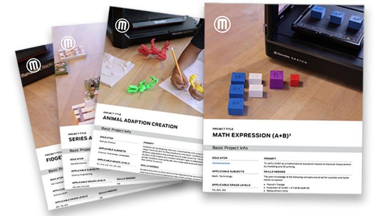 3D-Drucker Unterrichtsmaterialien