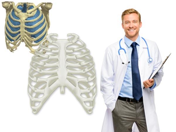 3D-Druck für Orthopädie und Schädelchirurgie