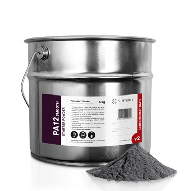 Sinterit PA12 Smooth Starter Powder 6kg