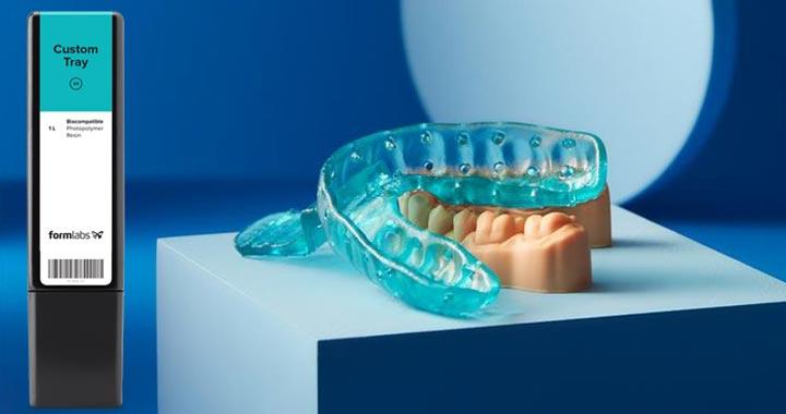 Formlabs Custom Tray Dental Resin Schweiz