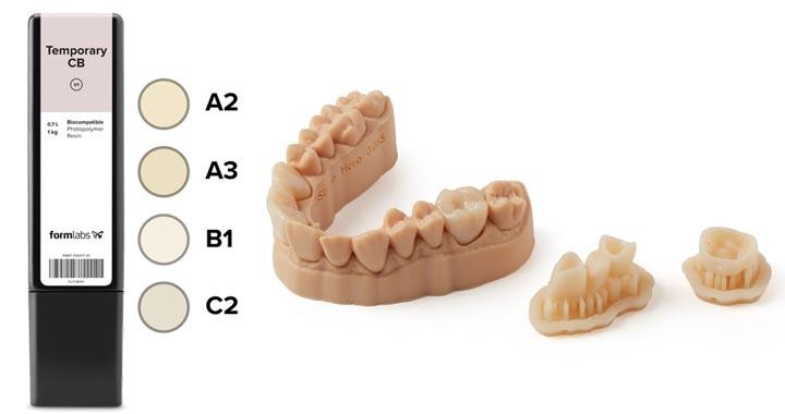 Formlabs Temporary CB Dental Resin Schweiz