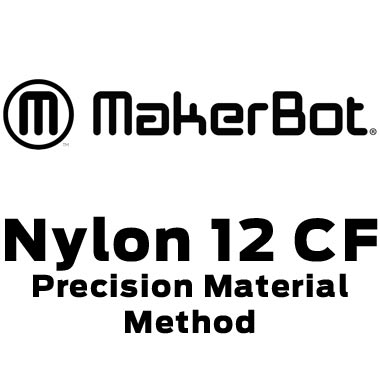 MakerBot Nylon 12 Carbon Fiber Filament