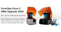 Formlabs Form 2 RMA Upgrade 2020
