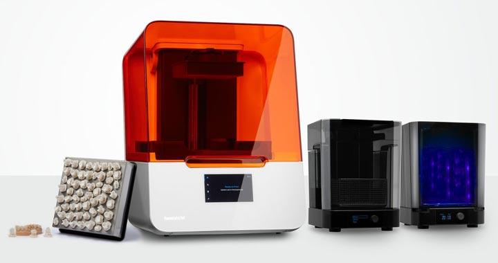 3d printer for permanent crown production