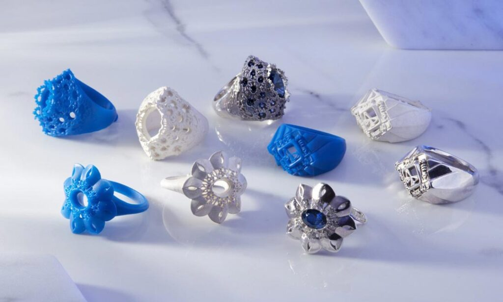 3d-printing for jewelry sample