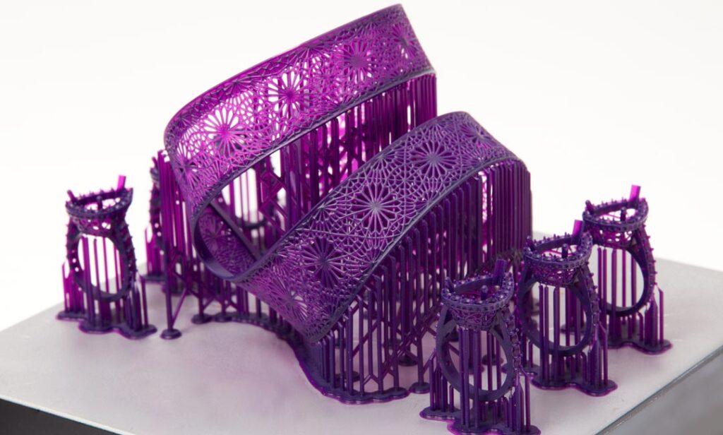 Drahtmodelle für die Schmuckherstellung