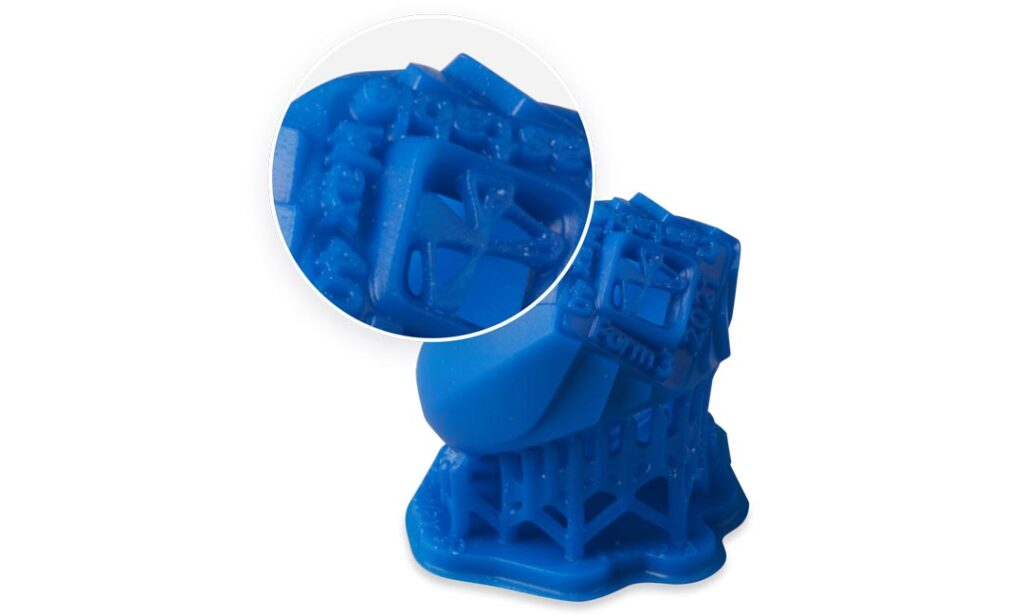 Formlabs Castable Wax 40 Resin Detail