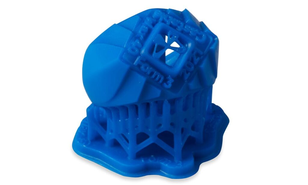 Formlabs Castable Wax 40 Sample Part