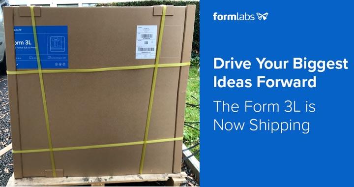 Formlabs Form 3L Lieferung Schweiz