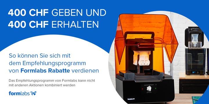 Formlabs Referral Programm Schweiz Suisse