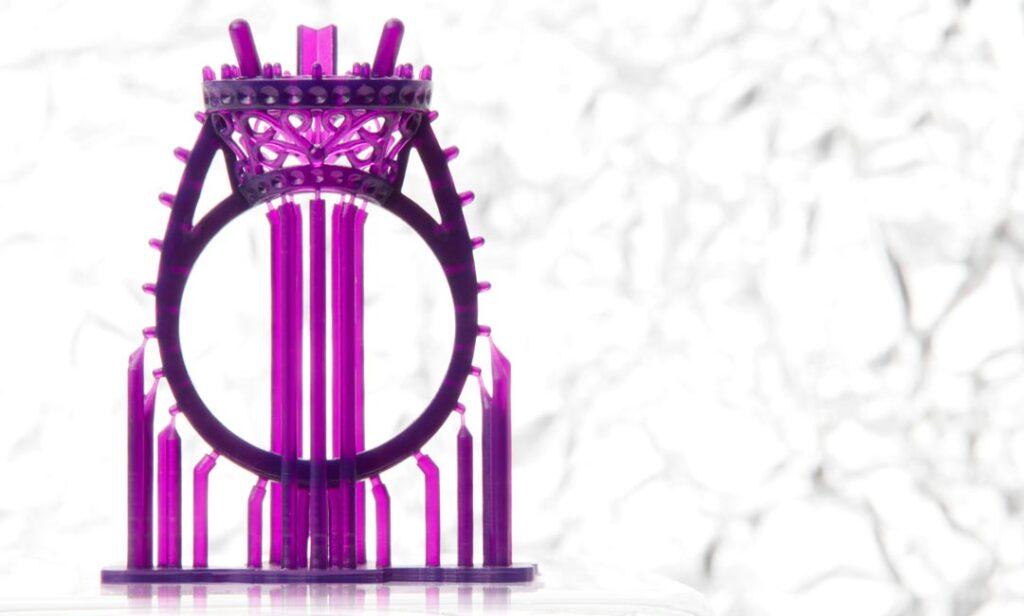 Minimaler Support bei 3D-Druck Jewelry